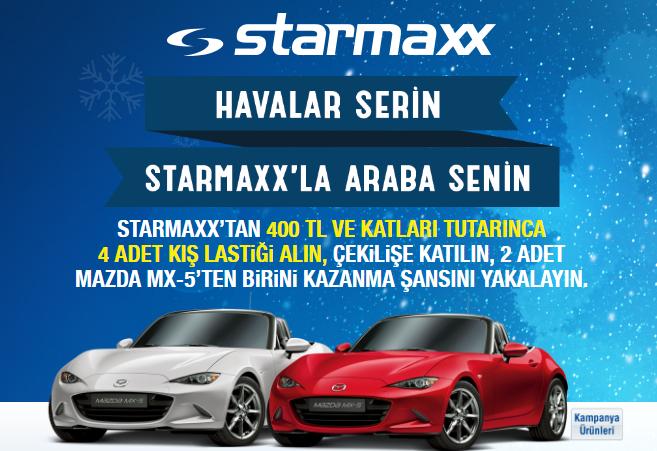 Havalar Serin Starmaxxla Araba Senin Kampanyası Sonucu Kampanya