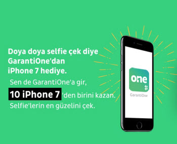 GarantiOne iPhone 7 Kampanyası