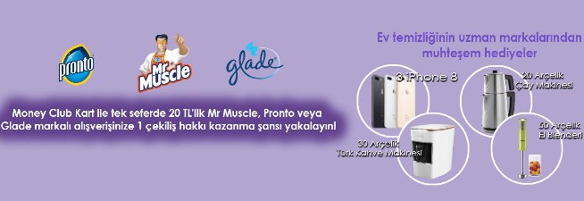 Pronto - Mr Muscle - Glade iPhone 8 Çekilişi,Pronto iPhone 8 Çekilişi, Mr Muscle iPhone 8 Çekilişi,Glade iPhone 8 Çekilişi,Mİgros iPhone 8 Çekilişi,Çekilişler 2018