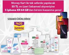Sebamed iPhone  XR Çekilişi