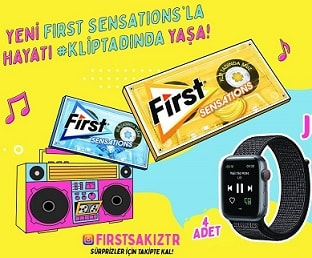 First Apple Watch Çekilişi