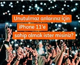 ING Bank iPhone 11 Çekilişi